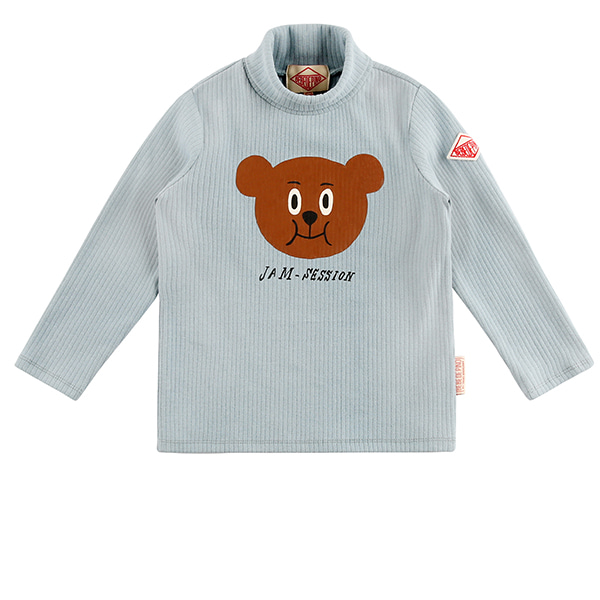 Willy bear turtleneck long sleeve tee