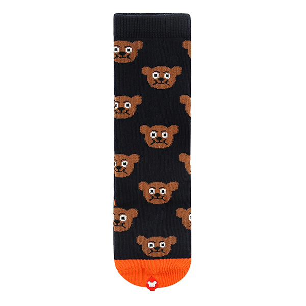 Multi Willy bear knee socks