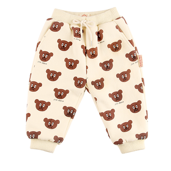 Multi willy bear baby boa fur pants