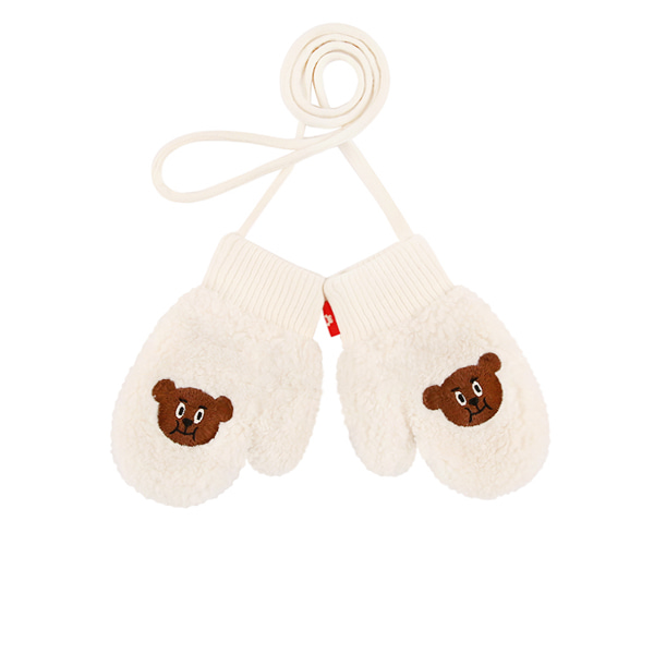 Willy bear baby fur gloves