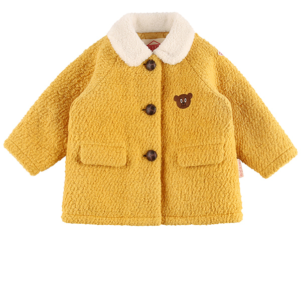 Willy bear baby wool coat