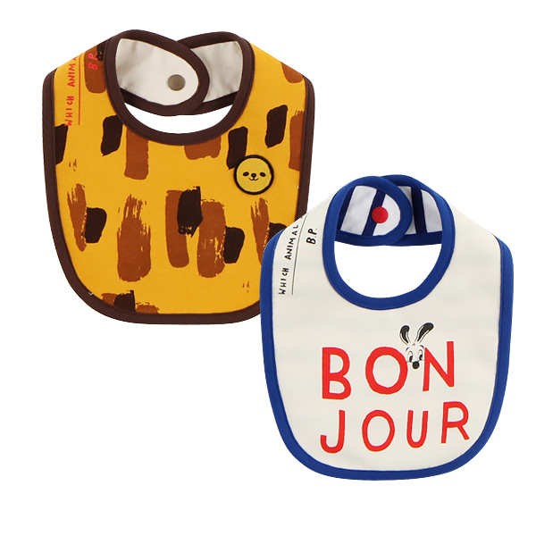 Bonjour baby bib set  NEW FALL