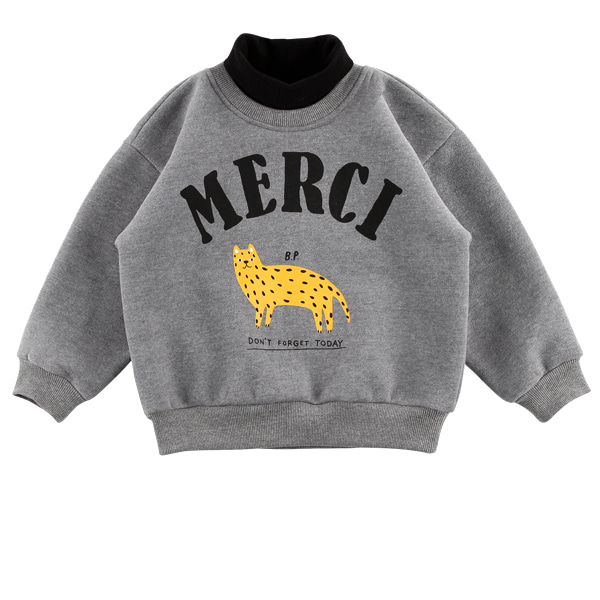 Merci turtle neck sweatshirt  NEW WINTER