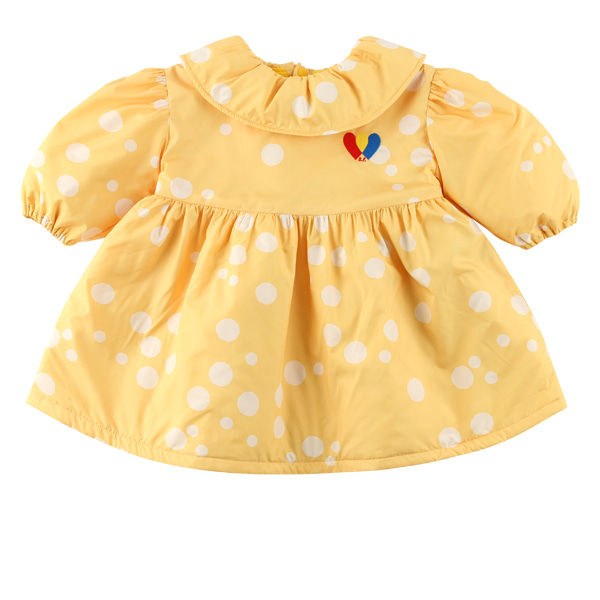 Multi sprinkle dots baby padding dress  NEW WINTER
