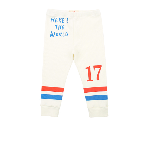 Number 17 baby stripe leggings  NEW SPRING