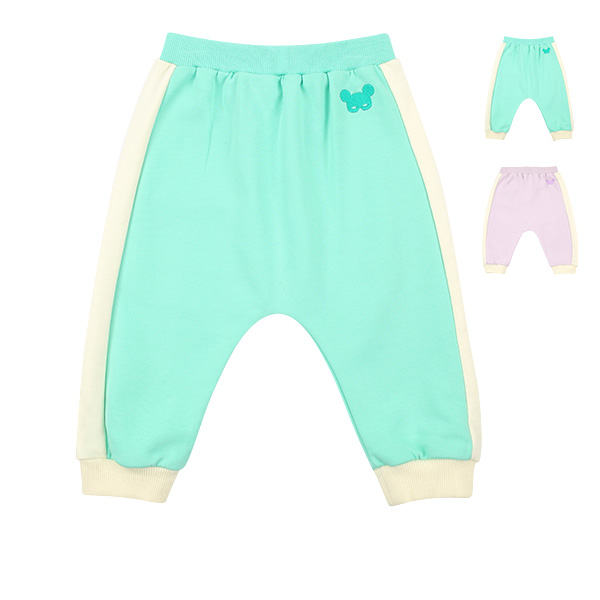 Basic baby pino mask colorblock sweatpants  NEW SPRING