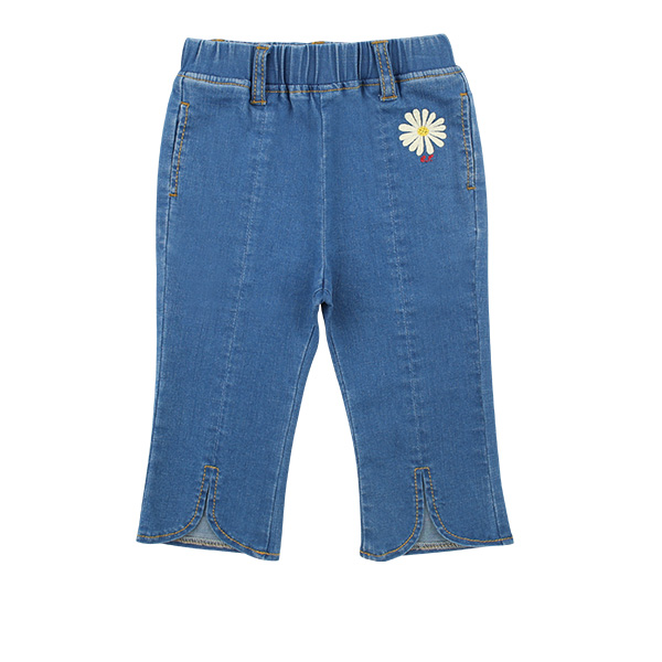 Daisy baby flared denim pants  NEW SPRING