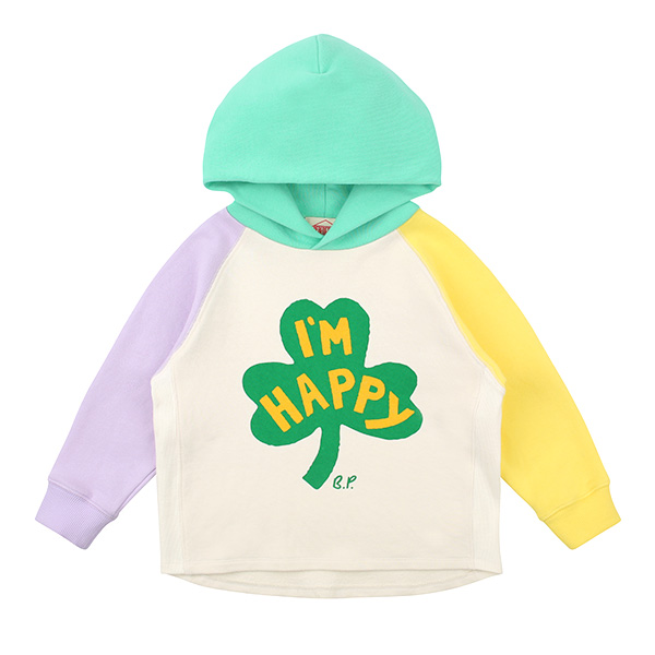 Clover multi color hooded sweatshirt  NEW SPRING