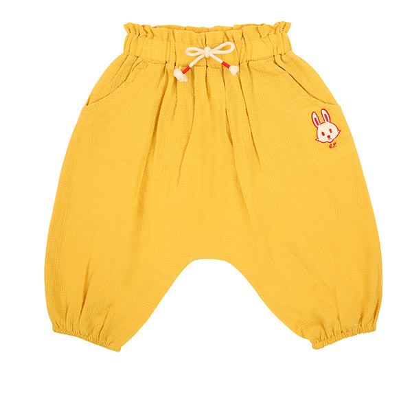 Rabbit baby pin tuck baggy pantsNEW SUMMER