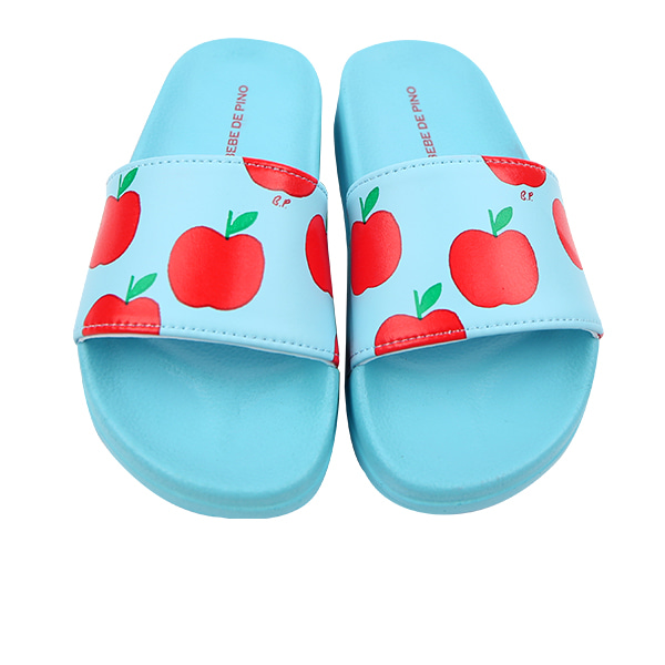 All over apple slipper NEW SUMMER