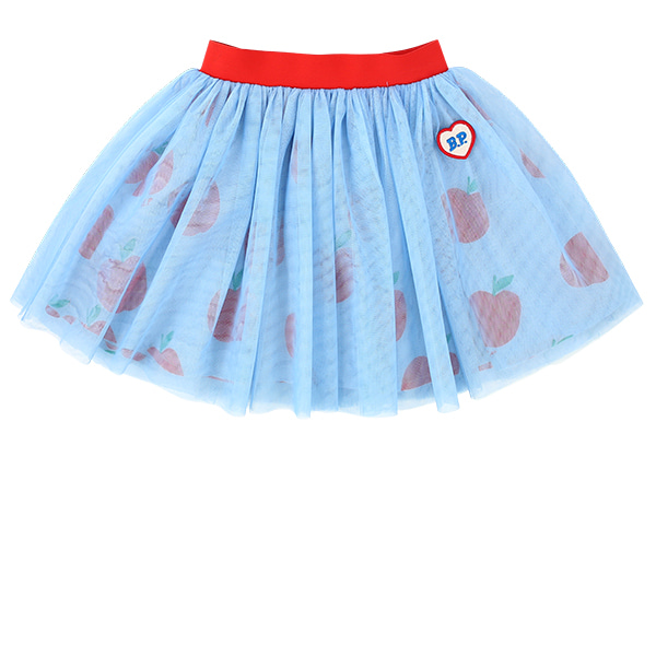All over apple tulle skirt  NEW SUMMER