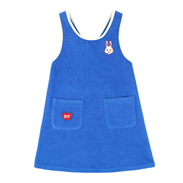 Bunny sleeveless terry dress  NEW SUMMER
