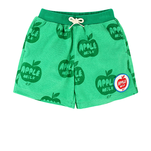 All over apple milk terry shorts  NEW SUMMER