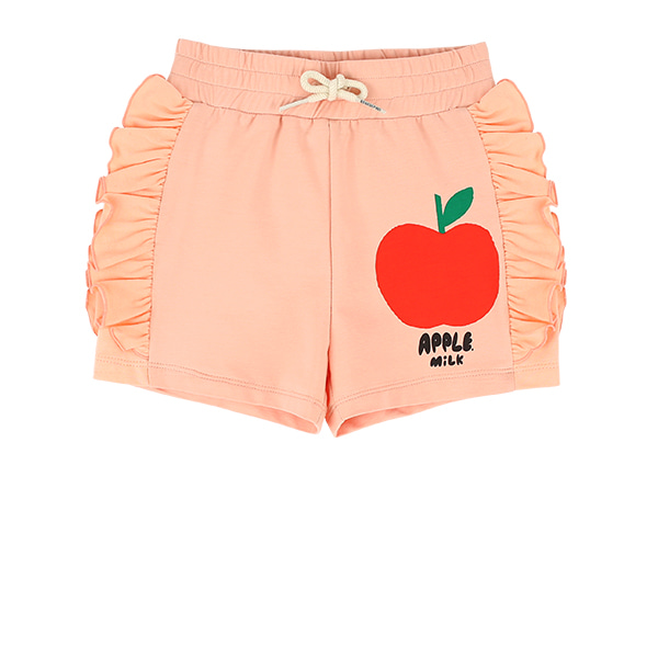 Apple milk ruffle jersey shorts  NEW SUMMER