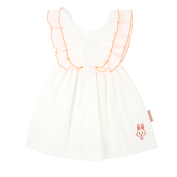 Bunny baby ruffle dress set  NEW SUMMER